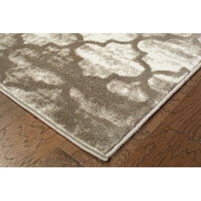 Droylsden Tan/Cream Area Rug Rug Size: 7'9