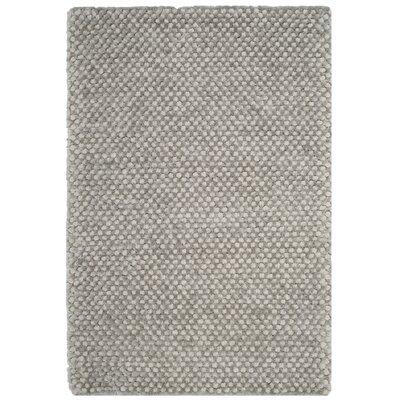 Maya Silver Rug Rug Size: Rectangle 4 x 6
