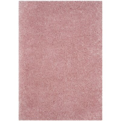 Hermina Light Pink Area Rug Rug Size: Rectangle 51 x 76