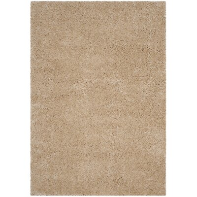Hermina Light Beige Area Rug Rug Size: Rectangle 4 x 6