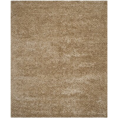 Maya Taupe Rug Rug Size: Rectangle 8 x 10