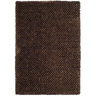 Maya Chocolate Rug Rug Size: Rectangle 4 x 6