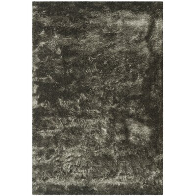 Montpelier Hand-Tufted/Hand-Hooked Titanium Area Rug Rug Size: Rectangle 6 x 9