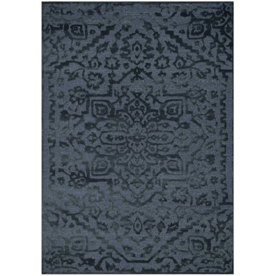Maspeth Navy Area Rug Rug Size: Rectangle 8 x 112