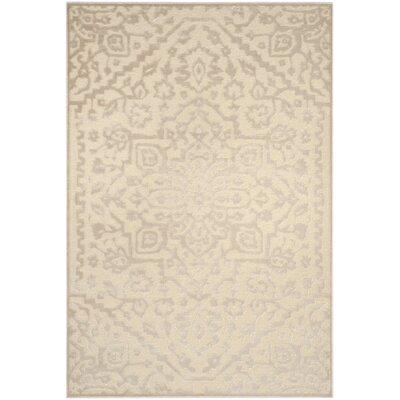 Maspeth Ivory Area Rug Rug Size: Rectangle 53 x 76