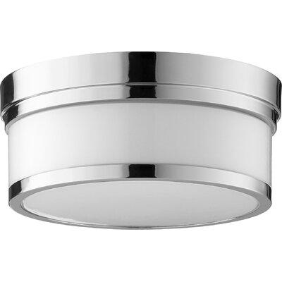 Dian 2-Light Flush Mount Finish: Polished Nickel