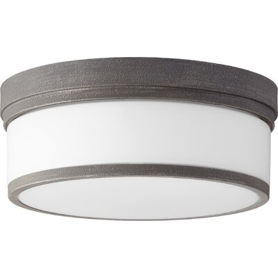Dian 3-Light Flush Mount Finish: Zinc