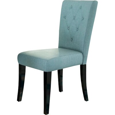 Bowman Side Chair Color: Blue