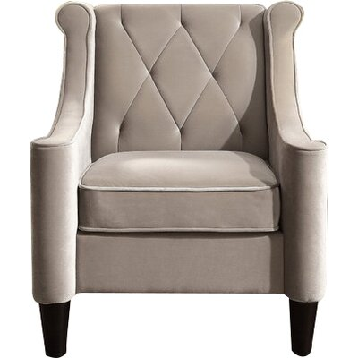 Buchanan Wingback Chair Upholstery: Milky Beige