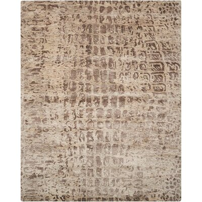 Cherina Hand-Tufted Beige Area Rug Rug Size: Rectangle 79 x 99
