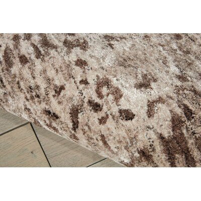 Cherina Hand-Tufted Beige Area Rug Rug Size: Rectangle 99 x 139