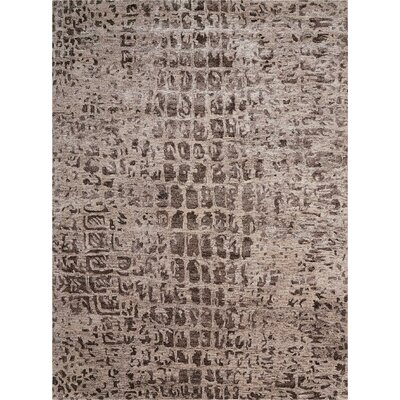 Cherina Hand-Tufted Beige Area Rug Rug Size: Rectangle 56 x 75