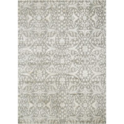 Stonington Steel Area Rug Rug Size: Rectangle 53 x 75