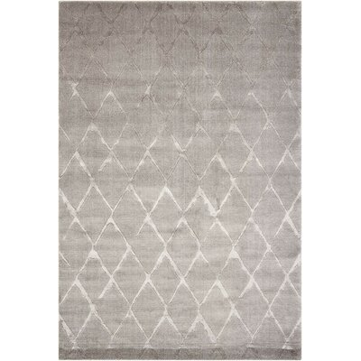 Zoey Gray Area Rug Rug Size: Rectangle 56 x 8
