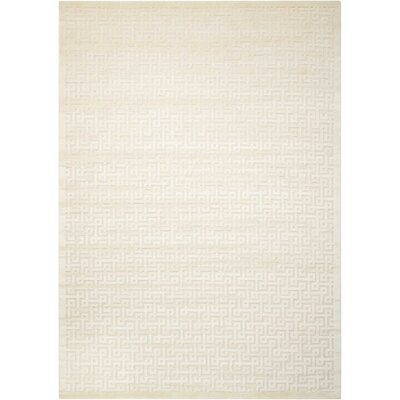 Blondelle Ivory Area Rug Rug Size: Rectangle 79 x 1010
