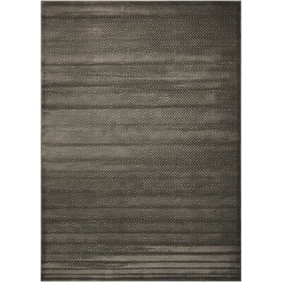 Blondelle Geometric Black Area Rug Rug Size: Rectangle 79 x 1010