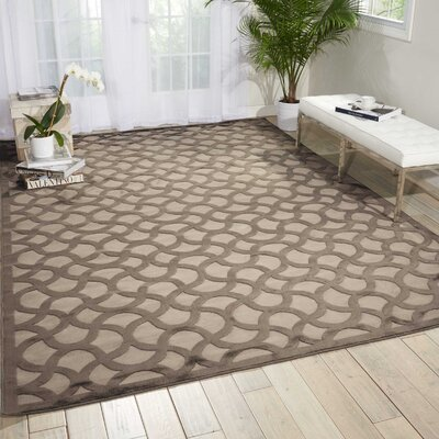 Blondelle Abstract Beige Area Rug Rug Size: Rectangle 36 x 56