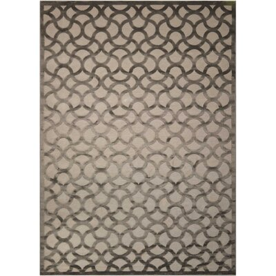 Blondelle Abstract Beige Area Rug Rug Size: Rectangle 79 x 1010