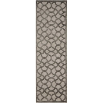 Blondelle Abstract Beige Area Rug Rug Size: Runner 22 x 7