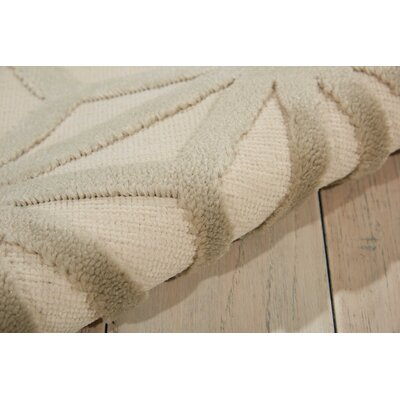 Stanhope Beige Area Rug Rug Size: Rectangle 76 x 96