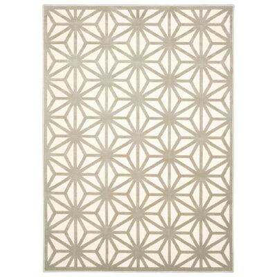 Stanhope Beige Area Rug Rug Size: Rectangle 53 x 73