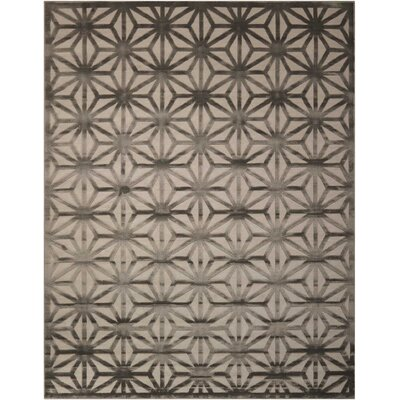 Stanhope Beige/Gray Area Rug Rug Size: Rectangle 76 x 96