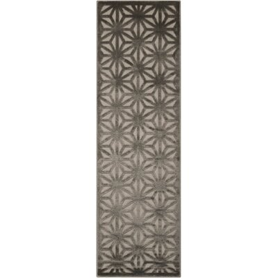 Stanhope Beige/Gray Area Rug Rug Size: Runner 22 x 7