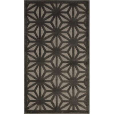 Stanhope Beige/Gray Area Rug Rug Size: Rectangle 22 x 39