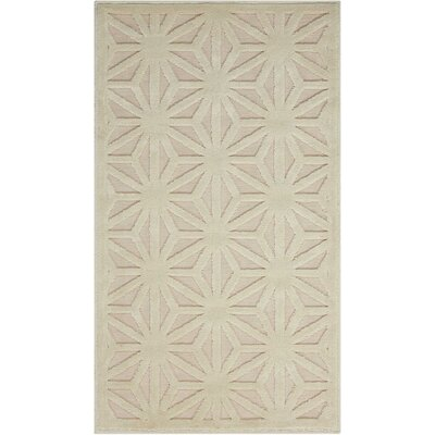 Stanhope Ivory Area Rug Rug Size: Rectangle 22 x 39