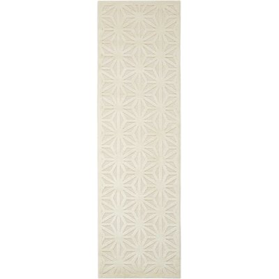 Stanhope Ivory Area Rug Rug Size: Runner 22 x 7