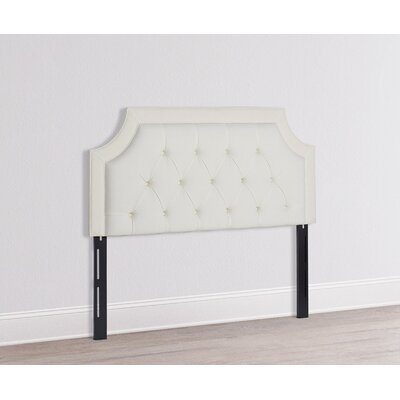 Misael Upholstered Panel Headboard Size: Queen, Upholstery: Star White