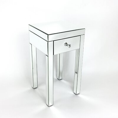 Thirza Mirror End Table