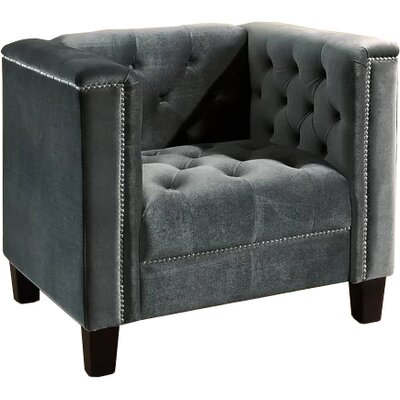 Broughtonville Armchair Upholstery: Grey