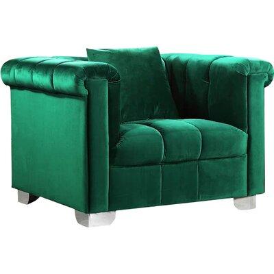 Henriette Armchair Upholstery: Green
