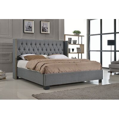 Ant�nio Upholstered Platform Bed Size: Eastern King