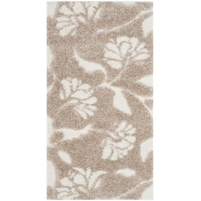 Marybell Light Creme Area Rug Rug Size: Rectangle 23 x 4