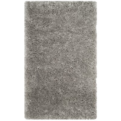 Hermina Silver Area Rug Rug Size: Rectangle 3 x 5