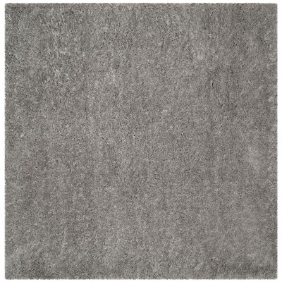 Hermina Silver Area Rug Rug Size: Square 67 x 67