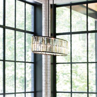 Mereworth 6-Light Crystal Chandelier Finish: Vintage Bronze