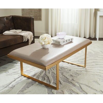 Rios Coffee Table Top Color: Taupe