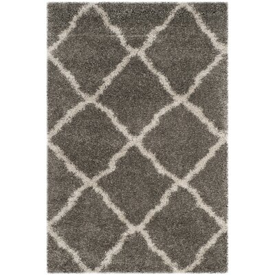 Charmain Grey & Taupe Area Rug Rug Size: Rectangle 4 x 6