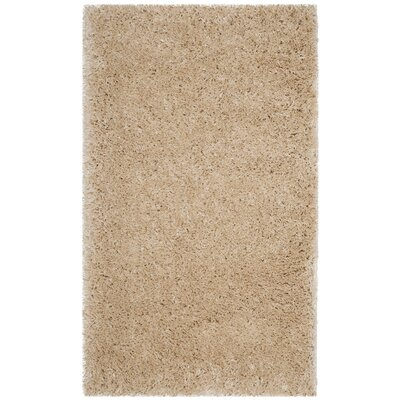 Hermina Light Beige Area Rug Rug Size: Rectangle 3 x 5