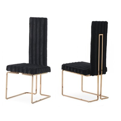 Jayleen Solid Back Side Chair