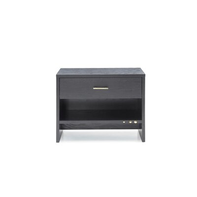 Manan 1 Drawer Nightstand