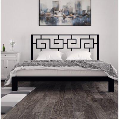 Giacinto Platform Bed Size: King, Color: Black