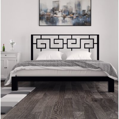 Giacinto Platform Bed Size: Queen, Color: Black