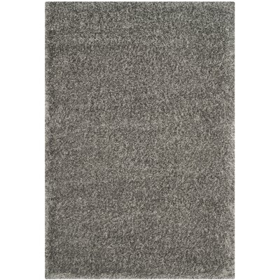 Maya Grey Rug Rug Size: Rectangle 51 x 76