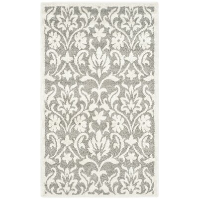 Maritza Dark Grey/Beige Area Rug Rug Size: Rectangle 3 x 5
