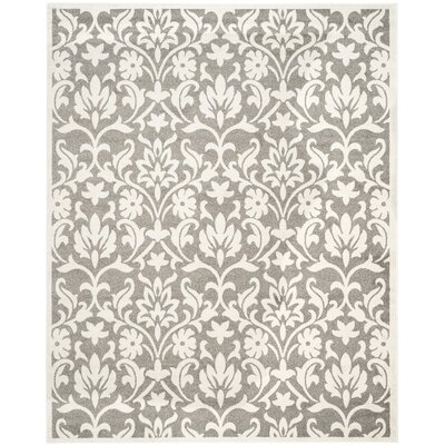 Maritza Dark Grey/Beige Area Rug Rug Size: Rectangle 8 x 10