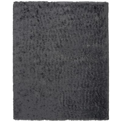 Hadar Shag Hand Tufted Slate Area Rug� Rug Size: Rectangle 8 x 10